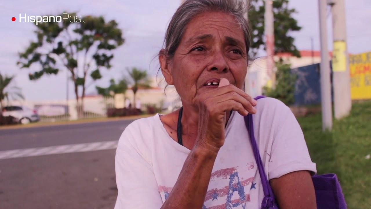Sin techo y sin ayuda las abuelas sobreviven en las calles de Managua
