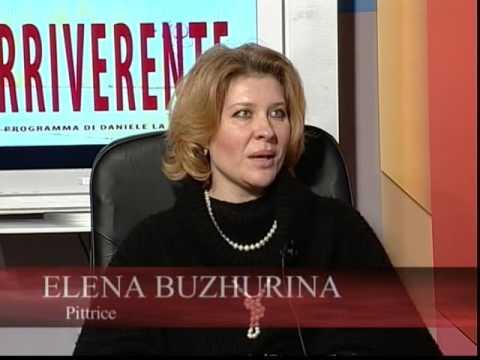 L' IRRIVERENTE : ELENA BUZHURINA PITTRICE