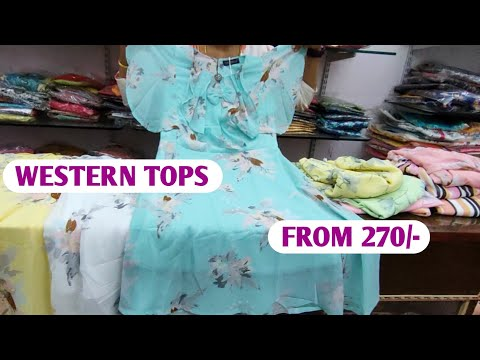 Most trending Western Wear Tops Jeans Tops Short Frocks Designer tops
