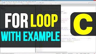 For Loop  in C Programming Language | Video Tutorial