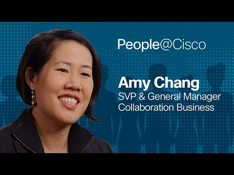 People@Cisco: Amy Chang
