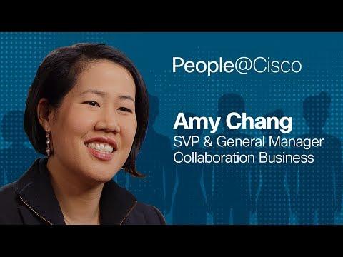 People@Cisco: Amy Chang