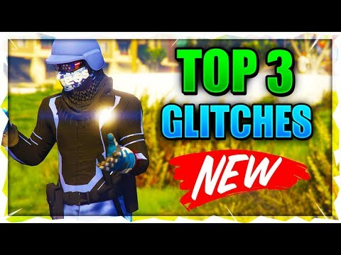 GTA 5 ONLINE - *BEST* 2019 GTA 5 GLITCHES! *BEST* 2019 TOP 3 WORKING GLITCHES IN GTA 5 ONLINE 1.46!