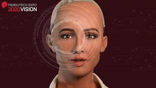 Sophia The Robot Introducing The Brand New Pendutech Expo For Pendulum 2020