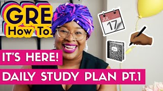 Introducing Free GRE Study Plan- First 30 Days