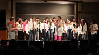 The Haverford College Outskirts  - Drag Me Down / I Knew You Were Trouble Mashup