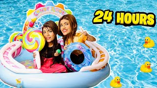 I Turned My House Into A *WATERPARK* For 24 Hours!! 🏖   @Samreen Ali   Mahjabeen Ali