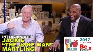 "Jackie ""The Joke Man"" Martling at Toy Fair 2017 on BeTerrific!!"