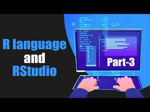 Introduction to the R language and R Studio using Data Science | Part 3 | Eduonix