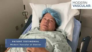 Modern Vascular of Denver Patient Testimonial