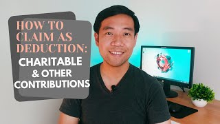 How to Claim Charitable Donations as Tax Deduction
