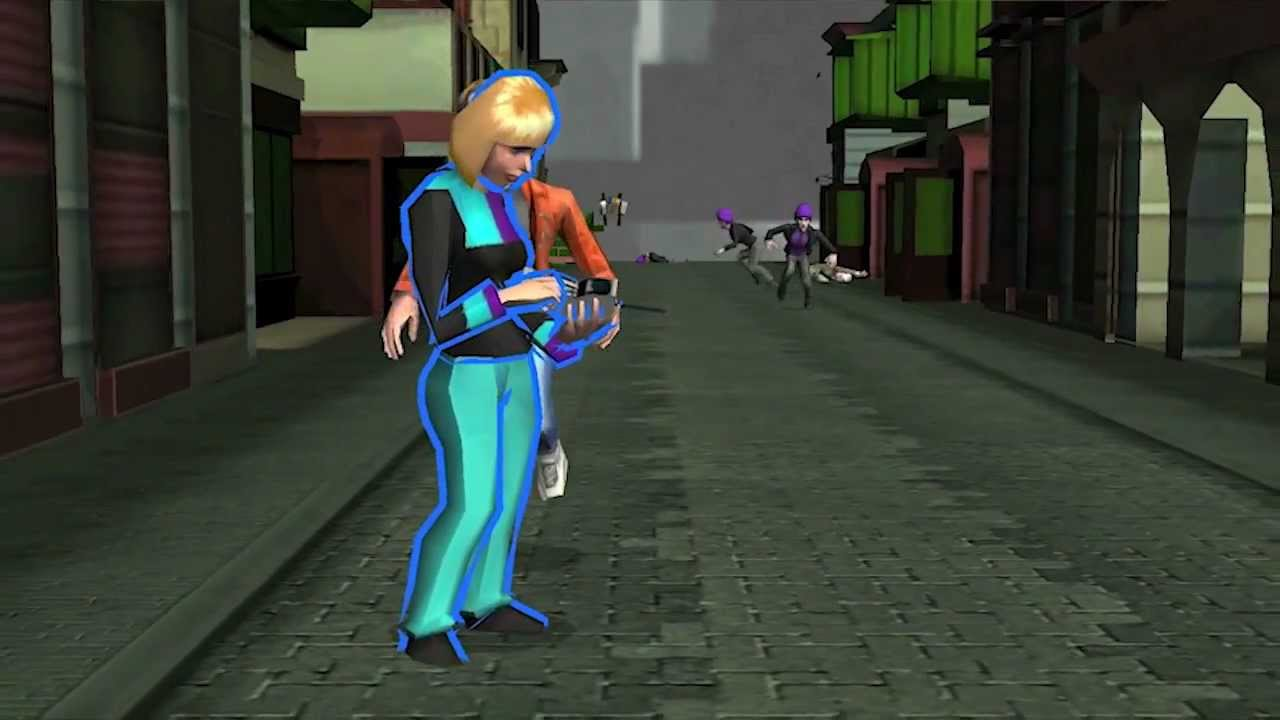 If You Like Running Down A Street And Shoving People, You'll Probably Like This Game