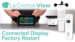 Connected Display Factory Restart