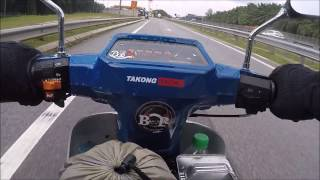 YAMAHA Y100 SPORT | SOLO RIDE TO THAILAND | PART 1
