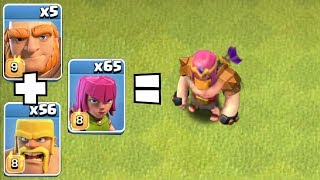 """NEW CHALLENGE """"GIBARCH"""" """"Clash Of Clans"""" Road to Gladiator!"""