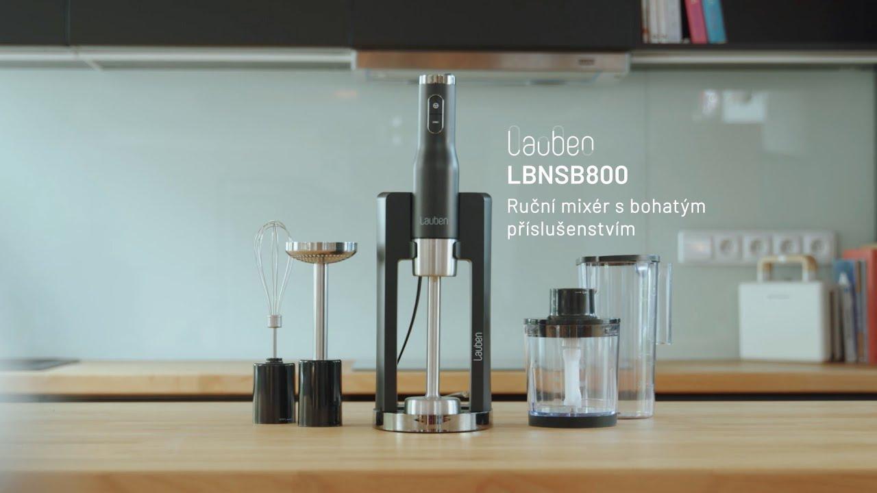 Lauben LBNSB800 | Ruční mixér s bohatým příslušenstvím