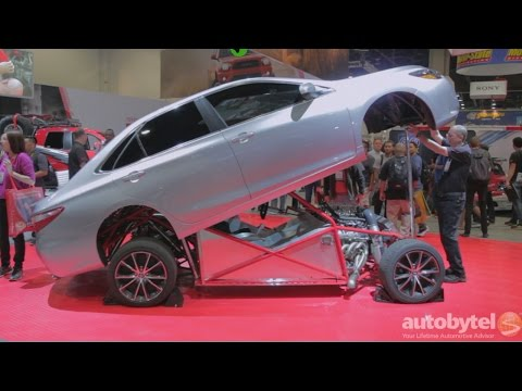 SEMA 2014: Toyota Camry Sleeper Drag Car