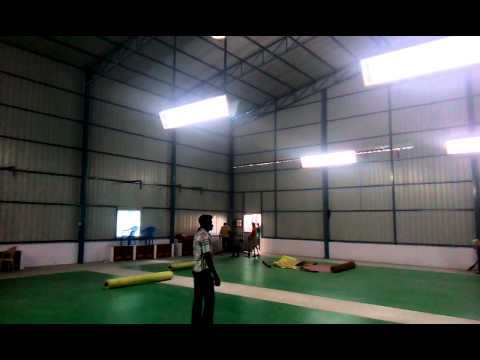 Indoor Badminton Court Roofing Contractors
