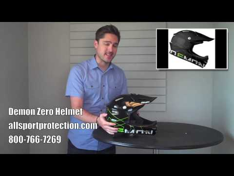 Demon Zero Full Face Helmet for Downhill Mountain Biking & BMX