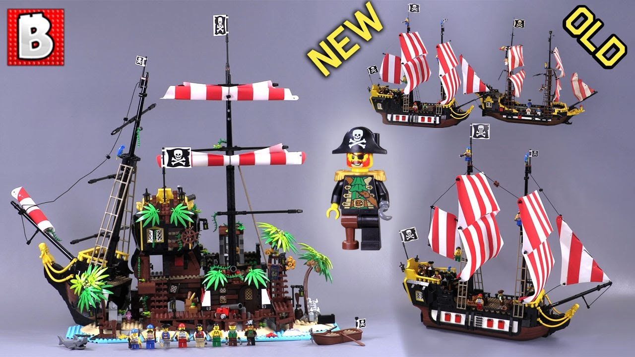 Pirates of Barracuda Bay LEGO IDEAS Full Review! Set 21322 + Comparison to 1989 Original