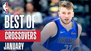NBA's Best Crossovers | January 2018-19 NBA Season