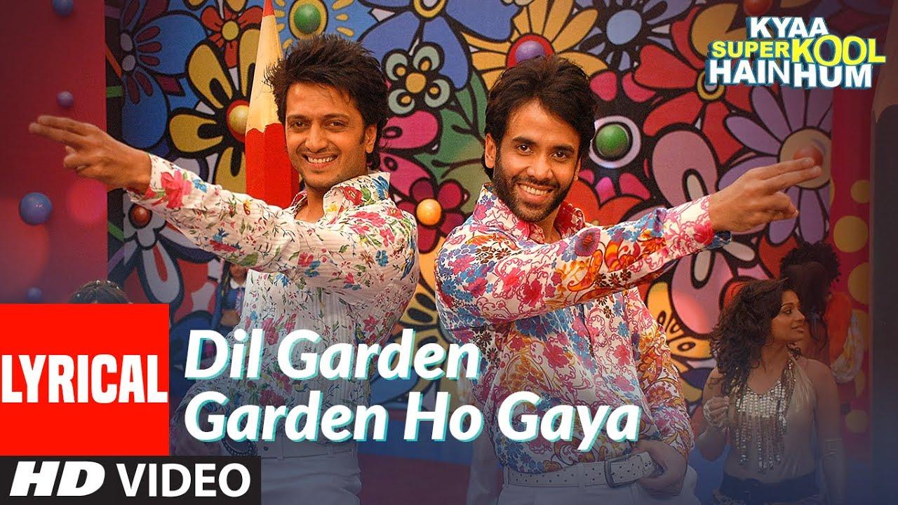 Dil Garden Garden Ho Gaya lyrics song- Vishal Dadlani