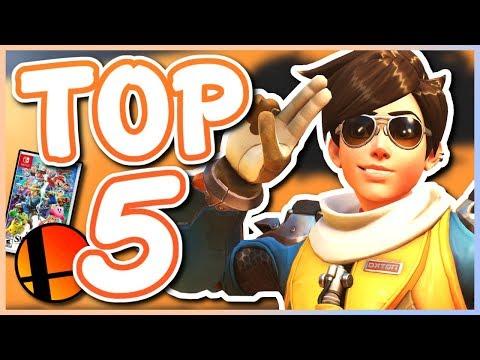 Overwatch - TOP 5 BEST HEROES FOR SMASH BROS ULTIMATE