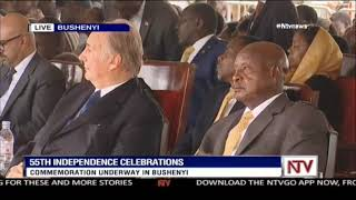 Museveni decorates Aga Khan with Grand Master Medal  -VIDEO