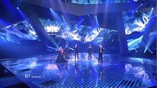 Greta Salóme & Jónsi - Never Forget (Iceland) Eurovision 2012 Grand Final Original HD 720P