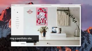 Building a Portfolio Site