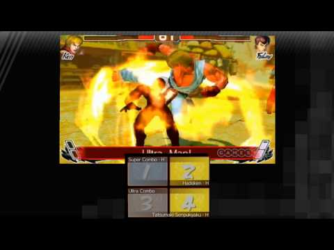 Видео № 1 из игры Super Street Fighter IV 3D Edition [3DS]