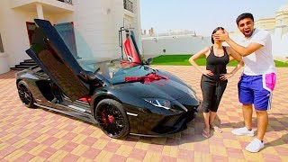 SURPRISING MY SISTER WITH HER DREAM CAR ..
