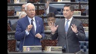 Najib questions govt's RM110bil cost for HSR
