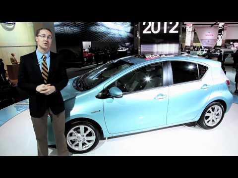 2013 Toyota Prius c - 2012 Detroit Autoshow