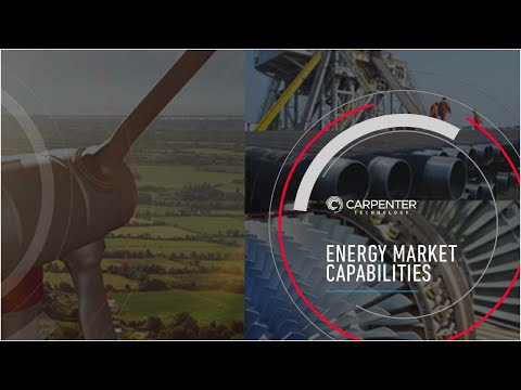 Carpenter's Athens Operations - Energy Market Capabilities
