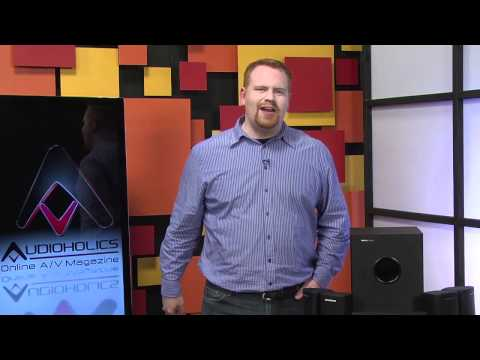 MonoPrice 5.1 Home Theater System Video Review