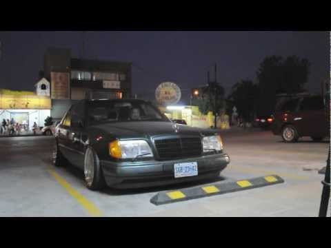 w124 AMG OZ 3 piece wheels lowered Mercedes CUSTOM Monterrey