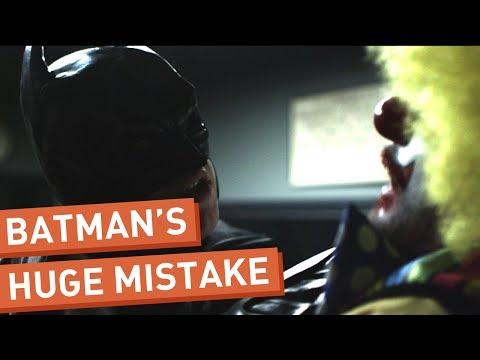 Batman vyslýchá Jokera