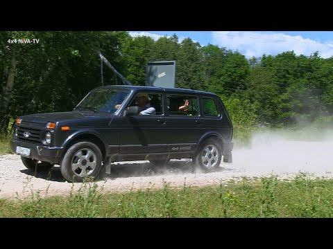 Drive test of LADA 4x4 Urban 5D International version clip(English)