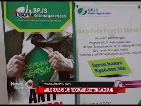 Santunan Jaminan Kecelakaan Kerja   iNews Sulbar   30-08-2018