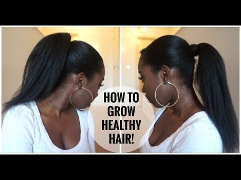 Video How To Grow LONG HEALTHY RELAXED Hair!