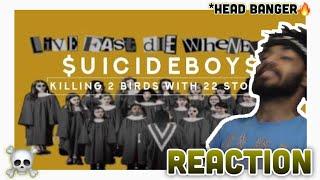 $uicideBoy$ & Travis Barker   Killing 2 Birds With 22 Stones (Reaction)