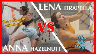 Bouldering the comp circuit at Flashpoint Bristol with Lena Drapella! 🧗‍♀️the ULTIMATE clim by Anna Hazelnutt