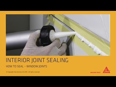 How to: Seal Window Joints