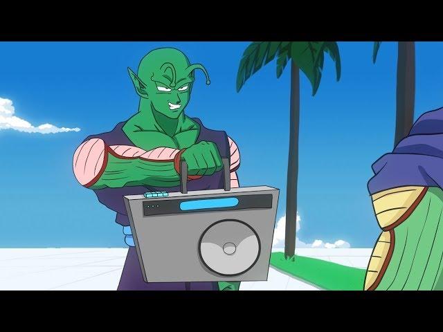 Piccolo vs Kami RAP BATTLE! (DBZ Parody)