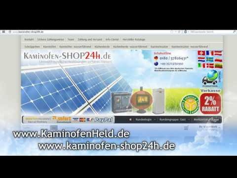 Eck-Kaminofen wasserführend LINESTOVES I200b - 14 kW