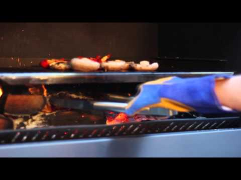 Escea Gas Fireplaces - EW5000 Outdoor Wood Cooking Fire