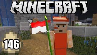 Minecraft Survival Indonesia - Gotong-Royong di Hari Kemerdekaan! (146)
