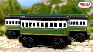 Old Coaches/Emily's Coaches   Custom Thomas Wooden Railway Model #3 by TurtlesAndThomas