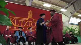 Kutztown University Spring 2010 Commencement